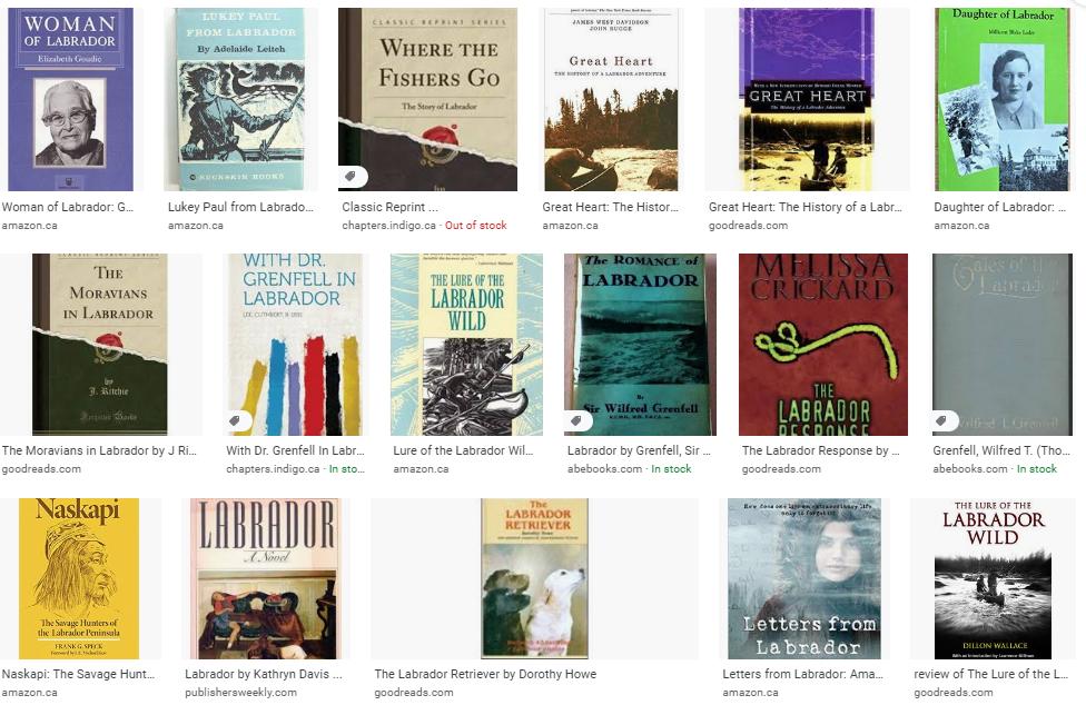 Google Images search results for labrador books -dog -newfoundland.