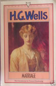 The cover of the 1986 edition of Marriage, by H.G. Wells.