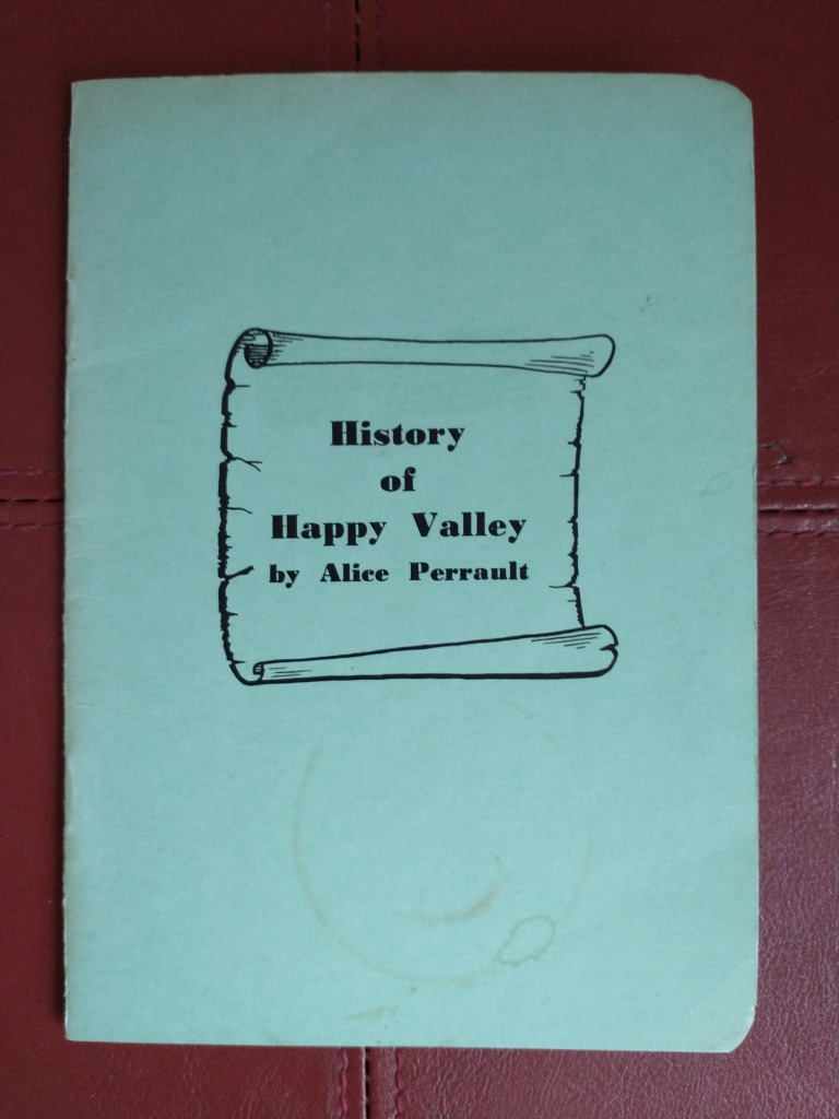 History of Happy Valley by Alice Perrault (cover)